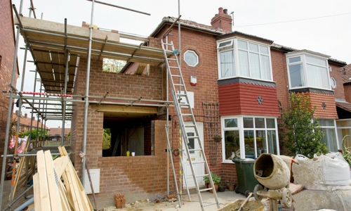 Extensions & Refurbishments - Services - Hyde Building